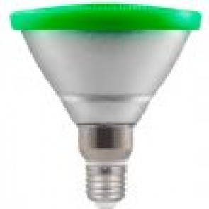 LED 13W Par 38 Reflector - Screw GREEN