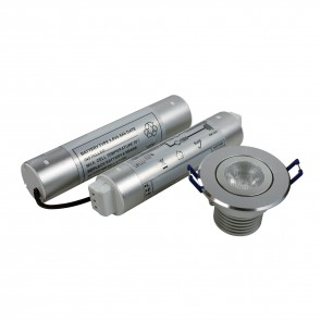 3W LED Dedicated Emergency Downlighters (Non Fire Rated)