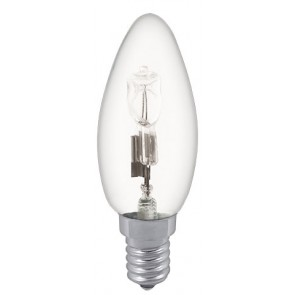 18W Eco Halogen Candle Bulb - Small Screw