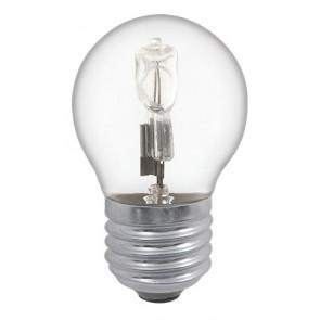 18W Energy Saving Halogen Golf Ball Bulb - Screw