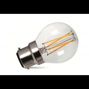 2W LED Filament Golf Bulb - Bayonet