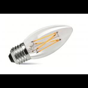 4W LED Filament Candle Bulb - Screw