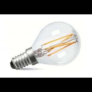 2W LED Filament Golf Bulb - Small Screw