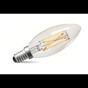 4W LED Filament Candle Bulb - Small Screw