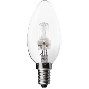 28W Eco Halogen Candle Bulb - Small Screw