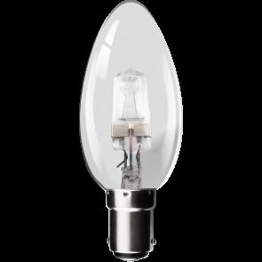 28W Eco Halogen Candle Bulb - Small Bayonet