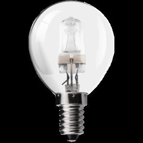 18W Energy Saving Halogen Golf Ball Bulb - Small Screw