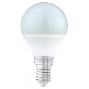LED 5.5W Dimmable Opal Golf Ball Bulb - Small Screw - Warm White