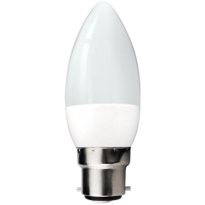 LED 5.5W Pearl Pearl Candle Bulb - Bayonet -  Warm White