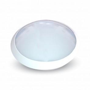8007-4983 12W LED FULL ROUND IP66 DOME LIGHT 4500K WHITE BODY